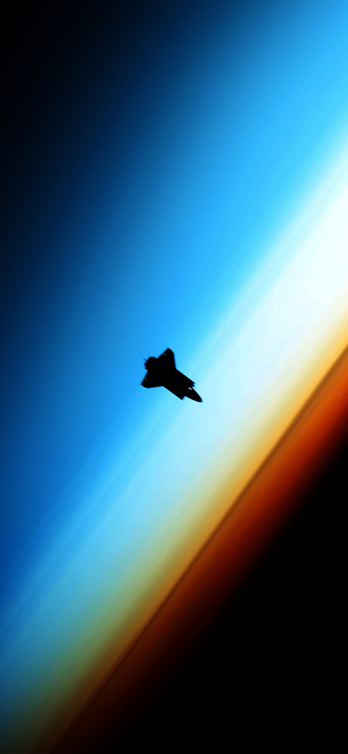 iPhoneXpapers.com-Apple-iPhone-wallpaper-me76-endeavor-red-horizon-spaceship-from-space