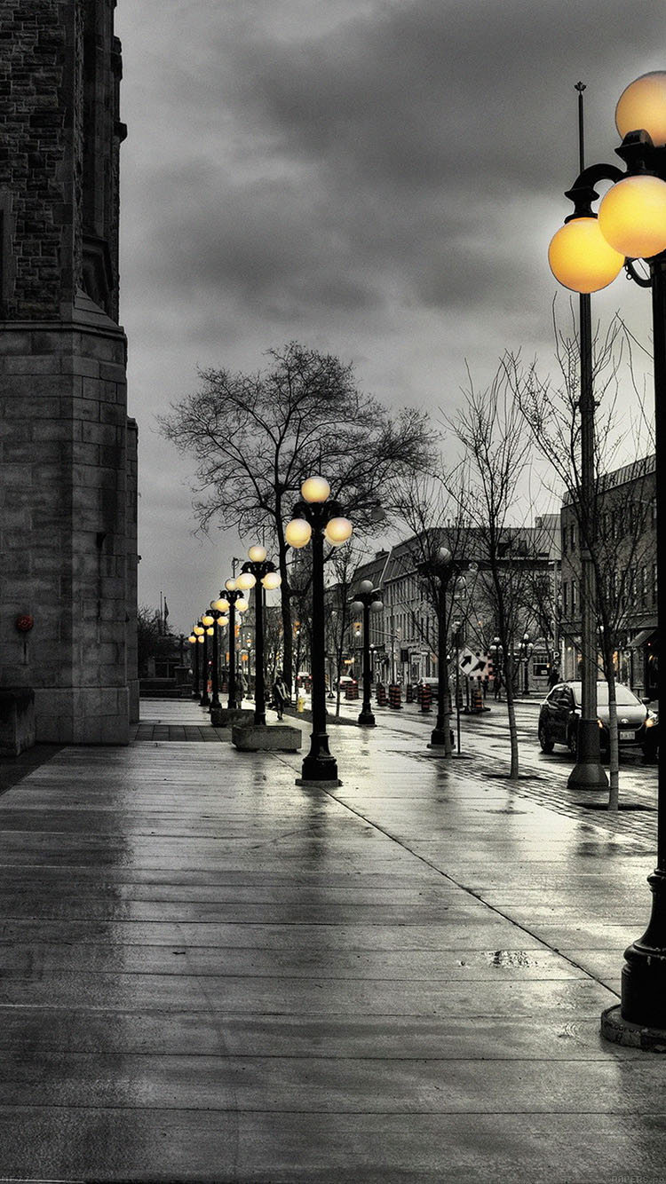 iPhonepapers.com-Apple-iPhone8-wallpaper-me77-dark-street-with-lamps