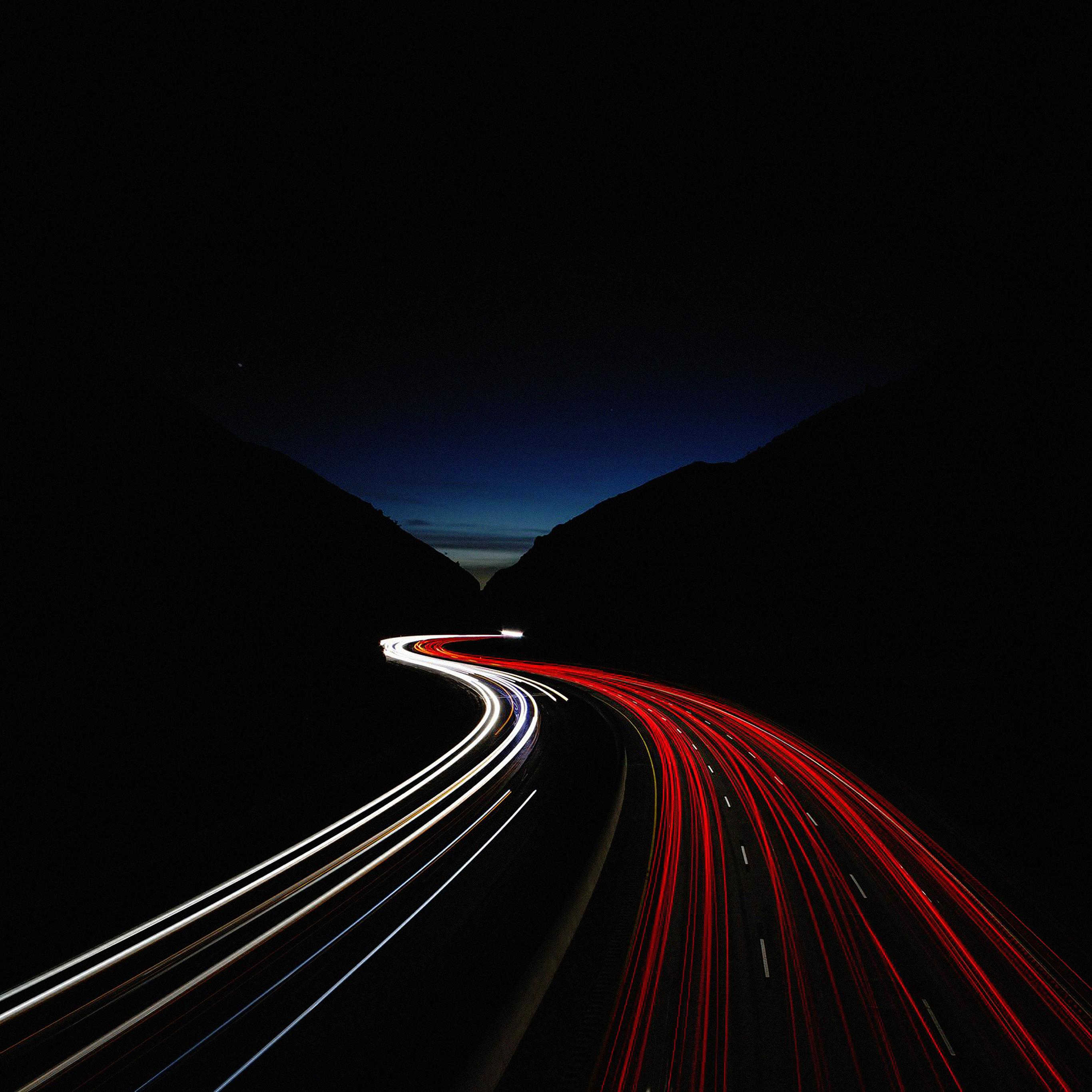Me83 Street Car Lights Night