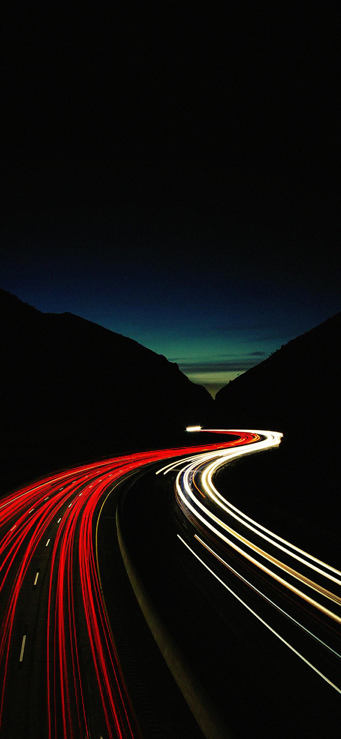 iPhoneXpapers.com-Apple-iPhone-wallpaper-me84-street-car-dark-lights-night