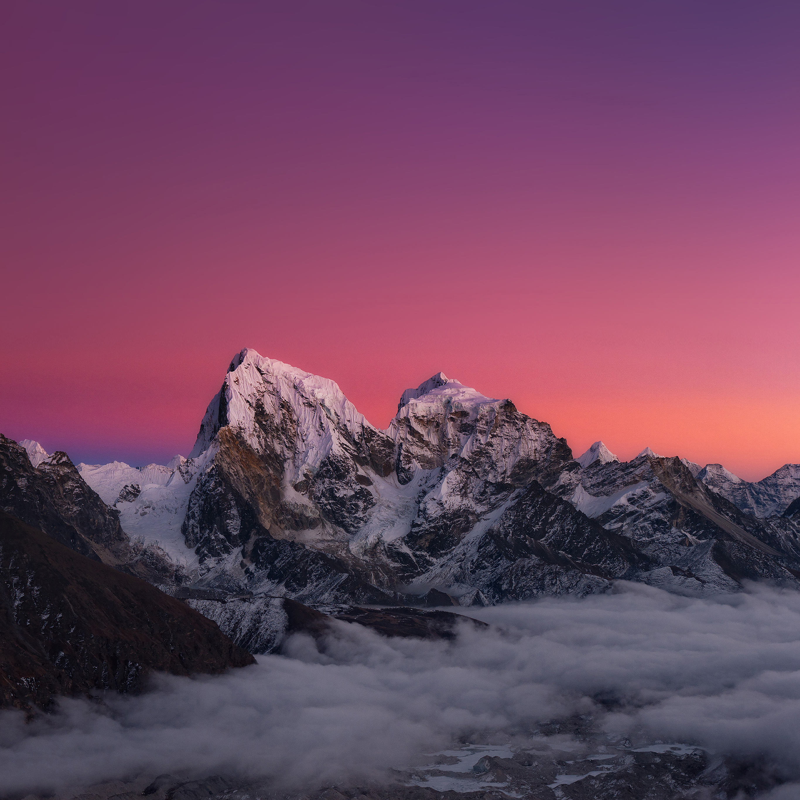 Me87-himalaya-sunset-mountain-art