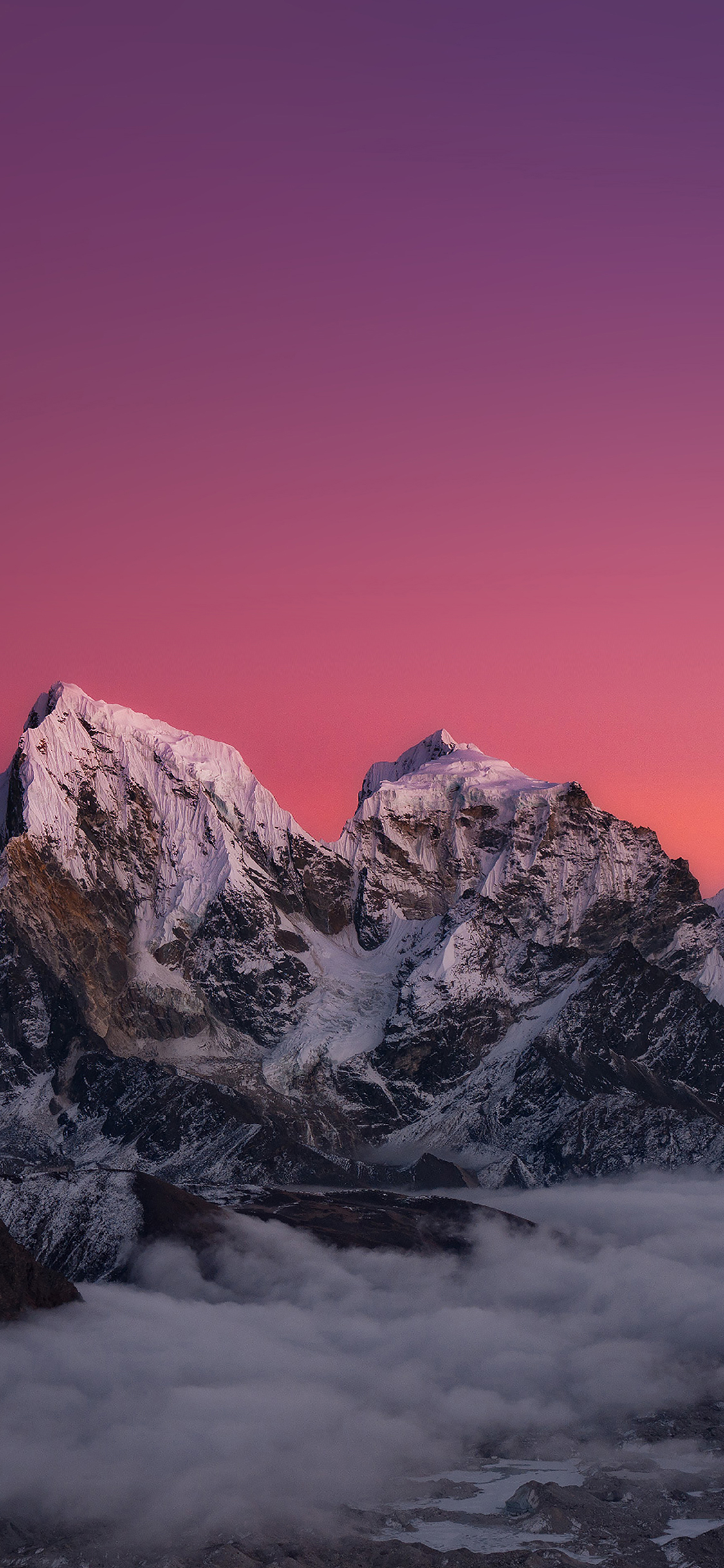 iPhoneXpapers.com-Apple-iPhone-wallpaper-me87-himalaya-sunset-mountain-art
