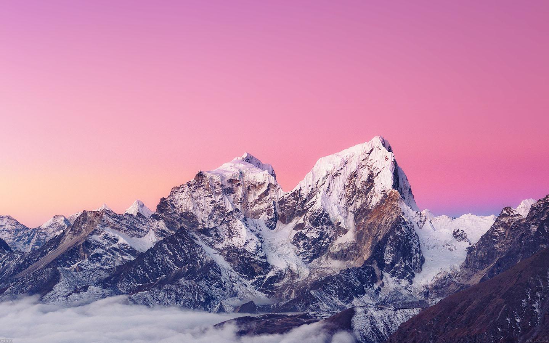 Me89 Himalaya Sunset White Mountain Art Papers Co