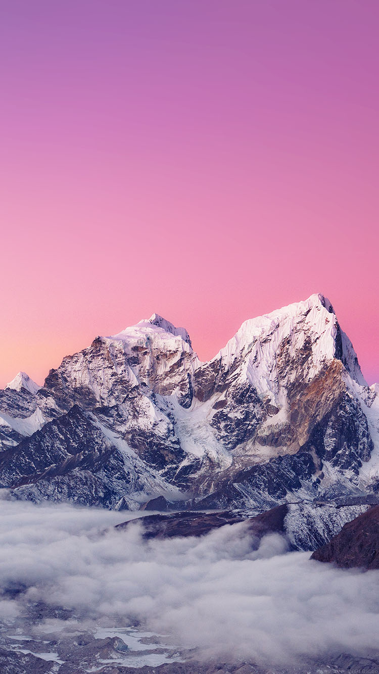 iPhonepapers.com-Apple-iPhone8-wallpaper-me89-himalaya-sunset-white-mountain-art