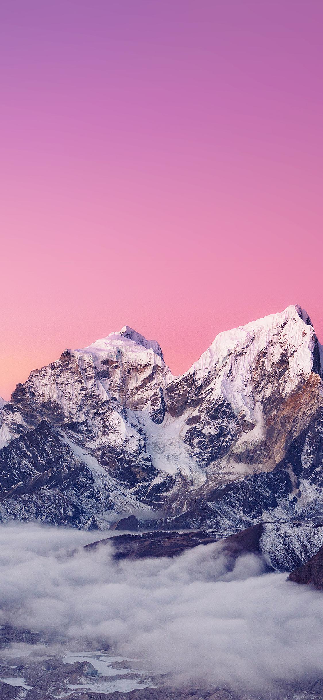 iPhoneXpapers.com-Apple-iPhone-wallpaper-me89-himalaya-sunset-white-mountain-art