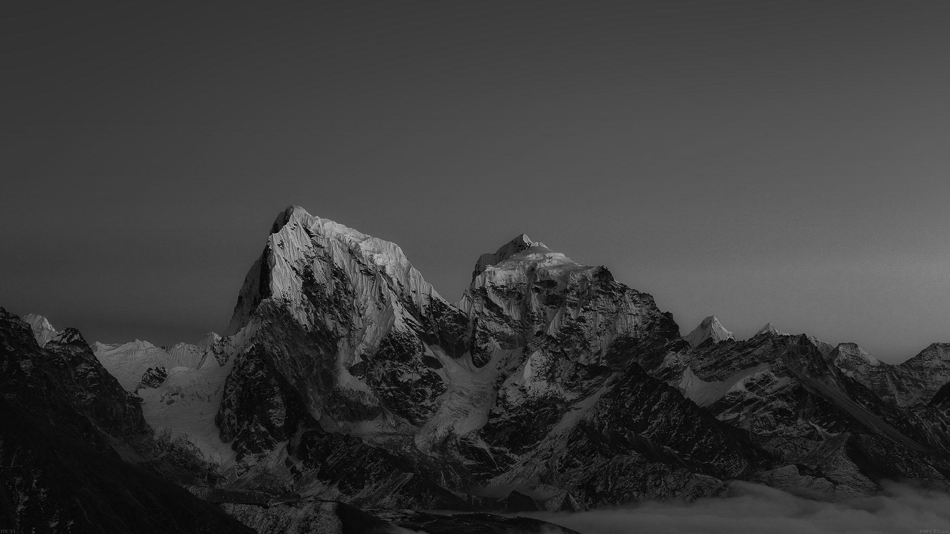 Me91-himalaya-sunset-dark-mountain-art