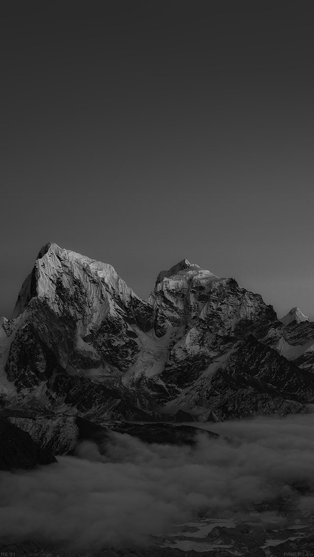 freeios8.com-iphone-4-5-6-ipad-ios8-me91-himalaya-sunset-dark-mountain-art