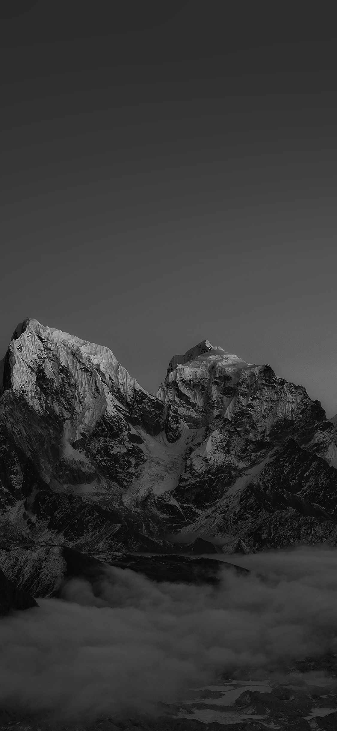 iPhoneXpapers.com-Apple-iPhone-wallpaper-me91-himalaya-sunset-dark-mountain-art