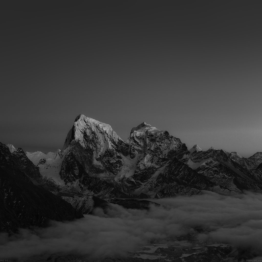 Me91-himalaya-sunset-dark-mountain-art