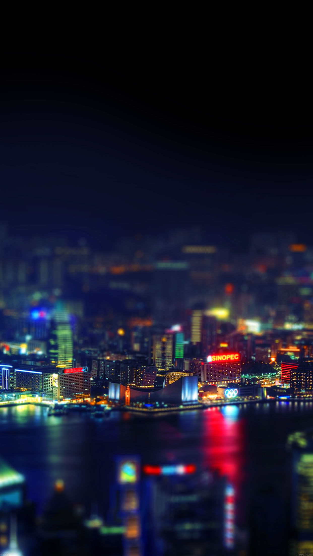 Me93 hongkong night cityscapes lights - Samsung s9 wallpaper 4k ...