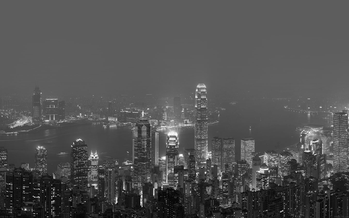 me98-skyline-hongkong-dark-city-night-live - Papers.co
