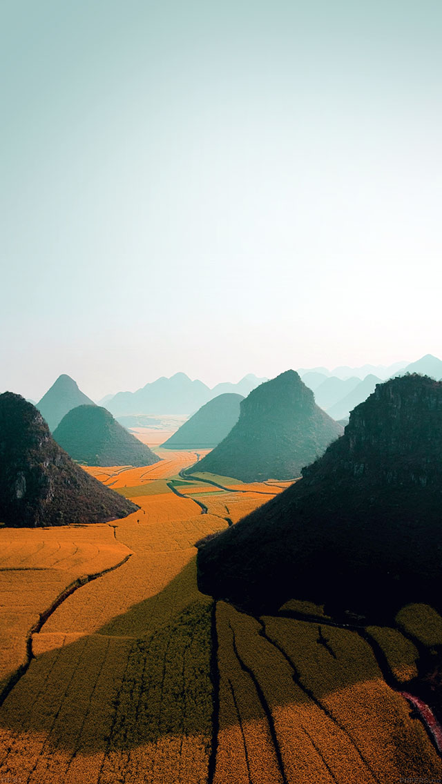 freeios8.com-iphone-4-5-6-ipad-ios8-mf01-nature-mountain-high-orange-field