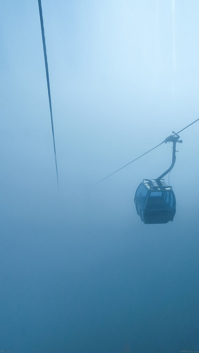 freeios8.com-iphone-4-5-6-ipad-ios8-mf25-cable-car-fog-blue-day