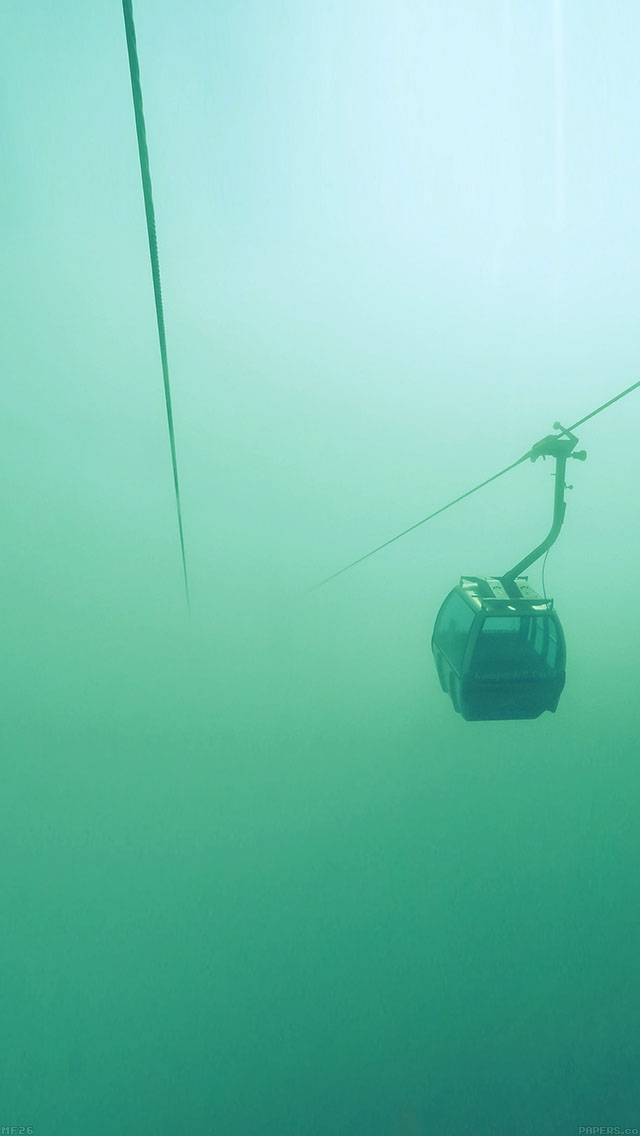 freeios7 mf26 cable car fog green day parallax hd