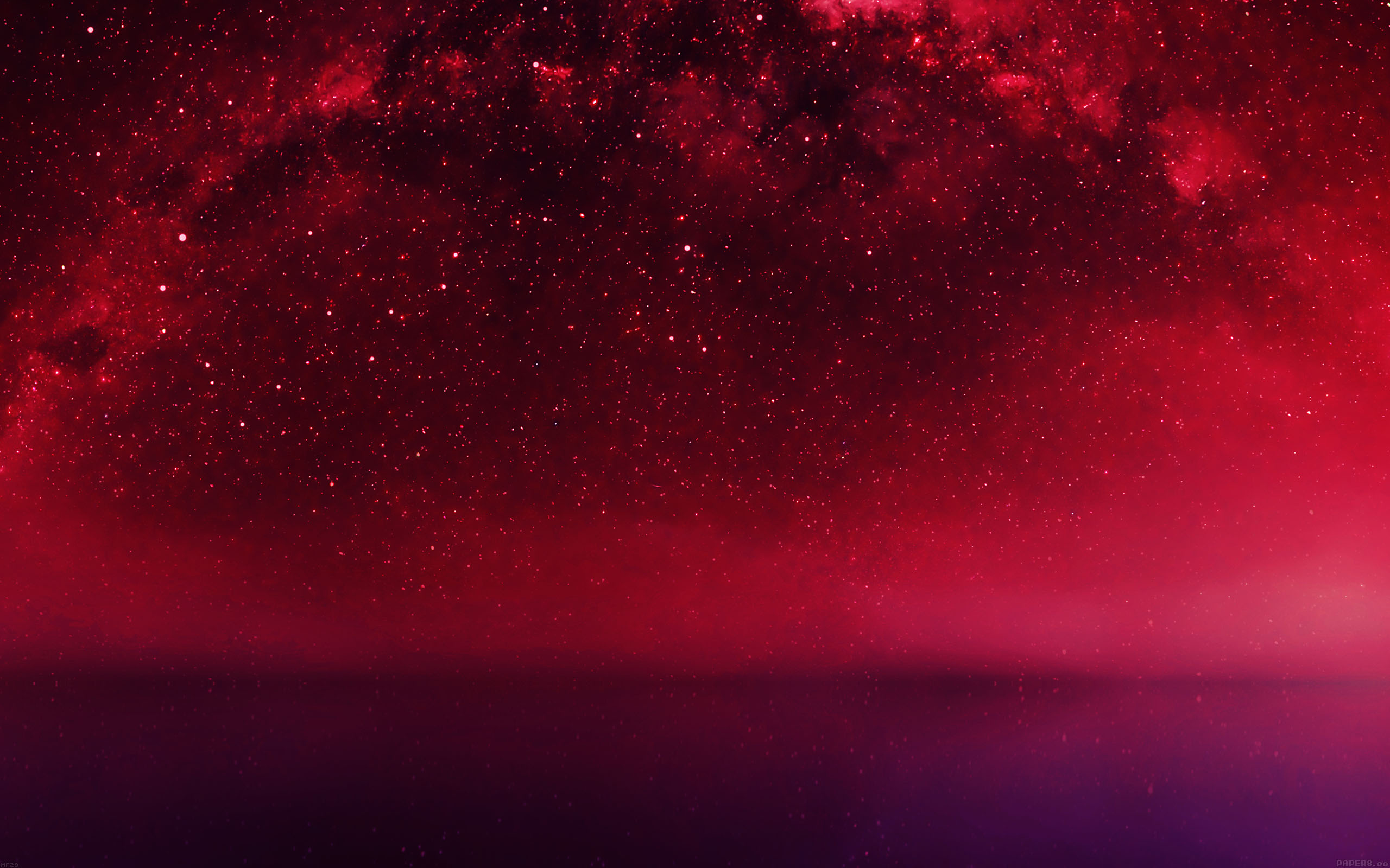 mf29-cosmos-red-night-live-lake-space-starry - Papers.co