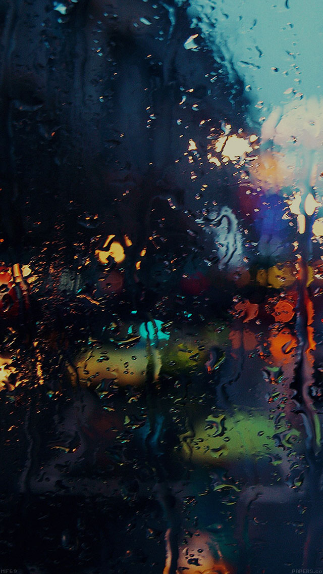 freeios8.com-iphone-4-5-6-plus-ipad-ios8-mf69-raining-back-car-window-gloomy-dark-street
