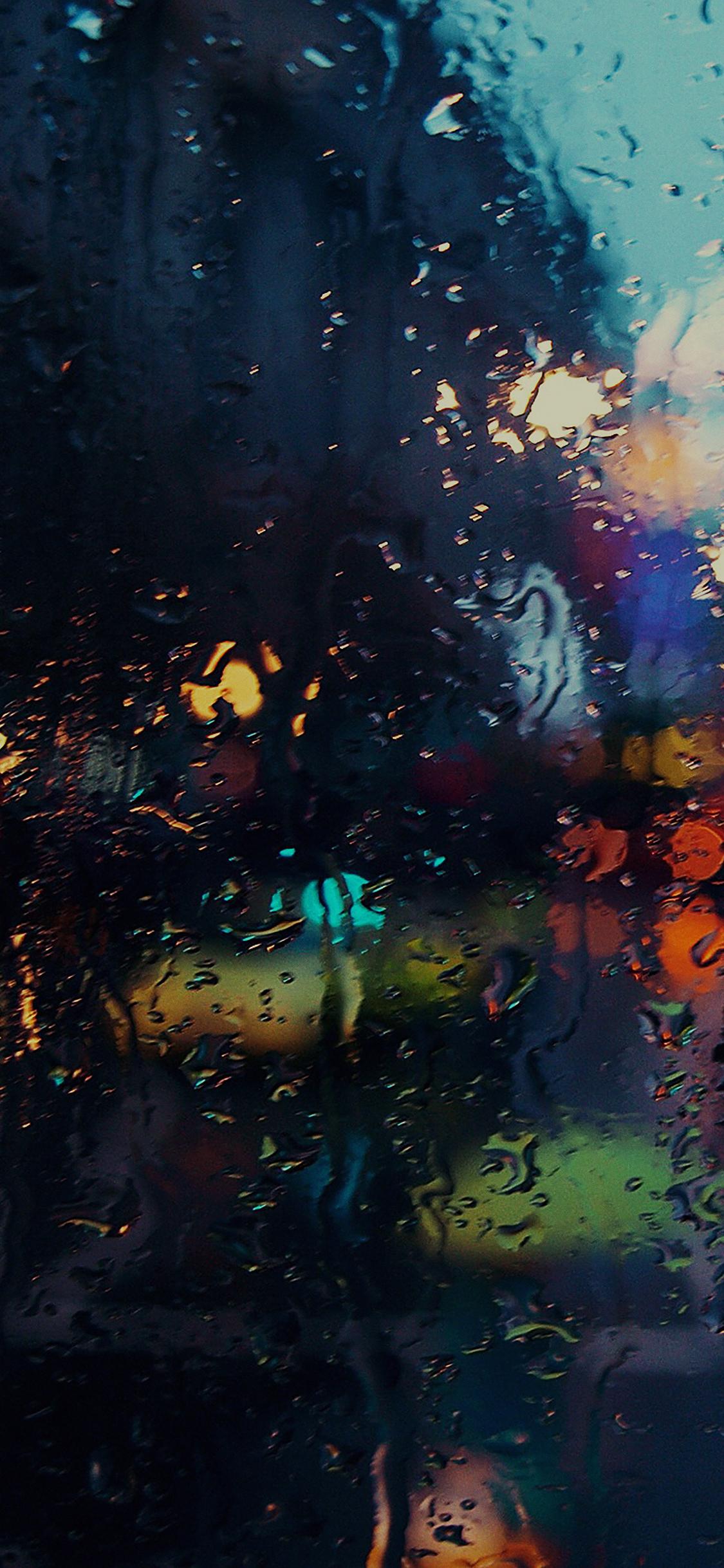 iPhoneXpapers.com-Apple-iPhone-wallpaper-mf69-raining-back-car-window-gloomy-dark-street