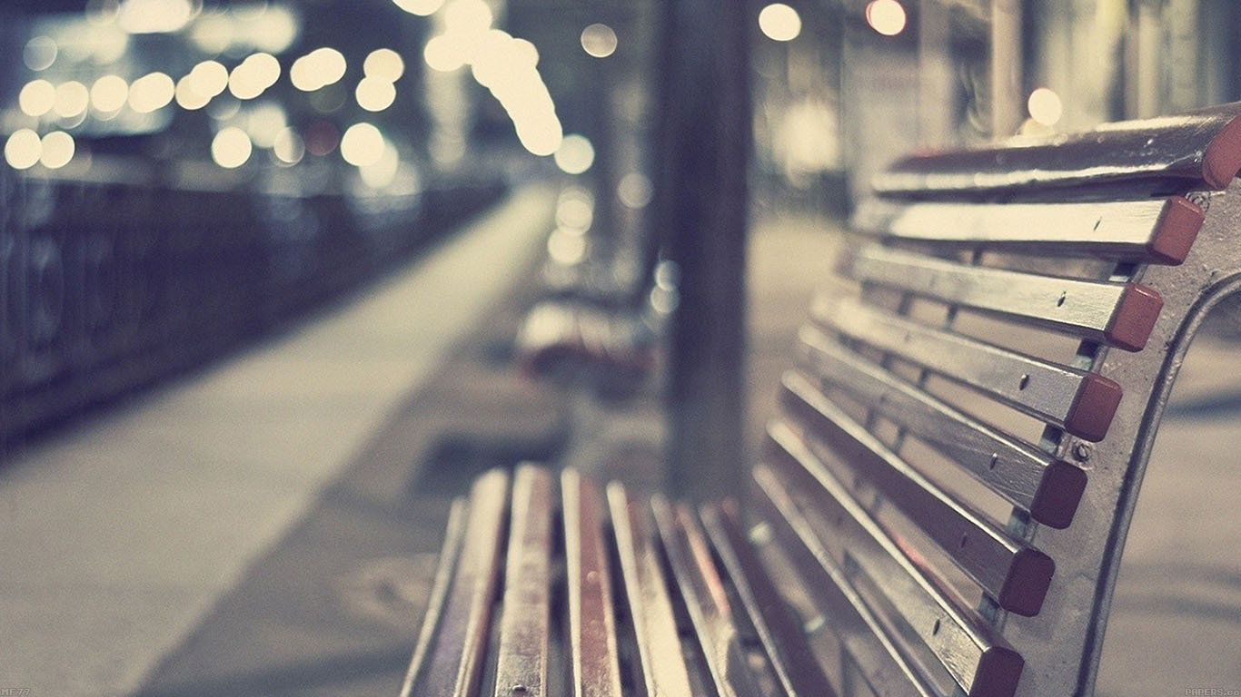 iPapers.co-Apple-iPhone-iPad-Macbook-iMac-wallpaper-mf77-street-chair-night-lights-bokeh-city-wallpaper