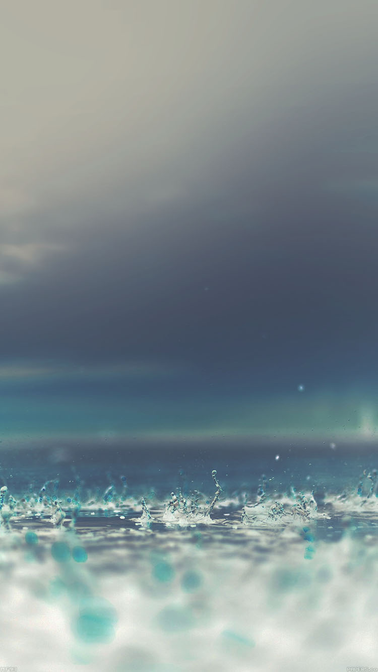 iPhonepapers.com-Apple-iPhone8-wallpaper-mf93-rain-drop-on-blue-afternoon-nature