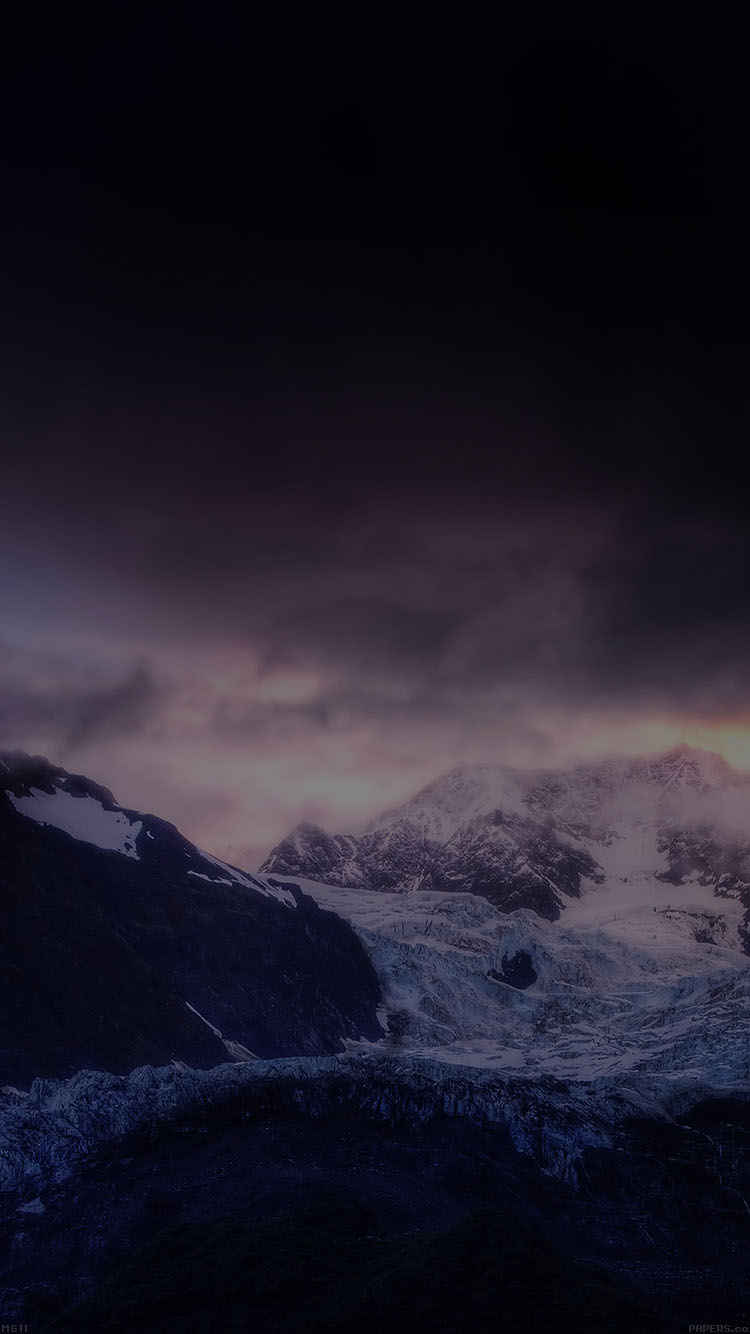 iPhone7papers.com-Apple-iPhone7-iphone7plus-wallpaper-mg11-mount-mcKinley-dark-white-snow-nature