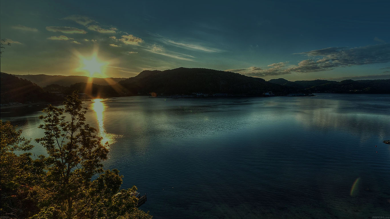 iPapers.co-Apple-iPhone-iPad-Macbook-iMac-wallpaper-mg17-lake-peace-lazy-sundown-nature-wallpaper