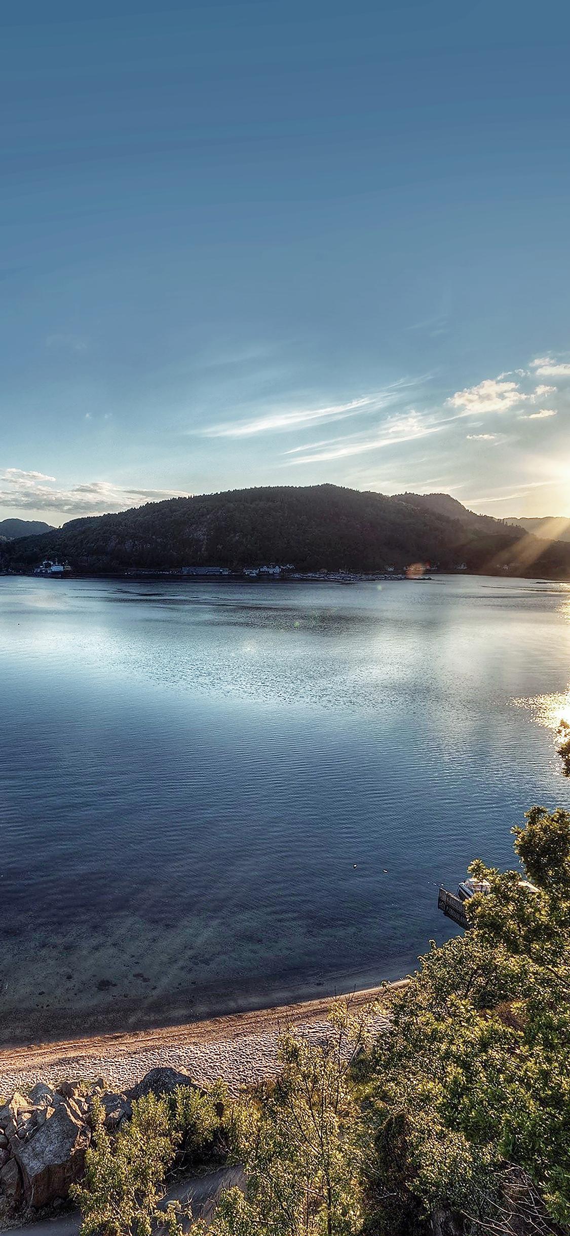 iPhoneXpapers.com-Apple-iPhone-wallpaper-mg18-lake-peace-great-sundown-nature