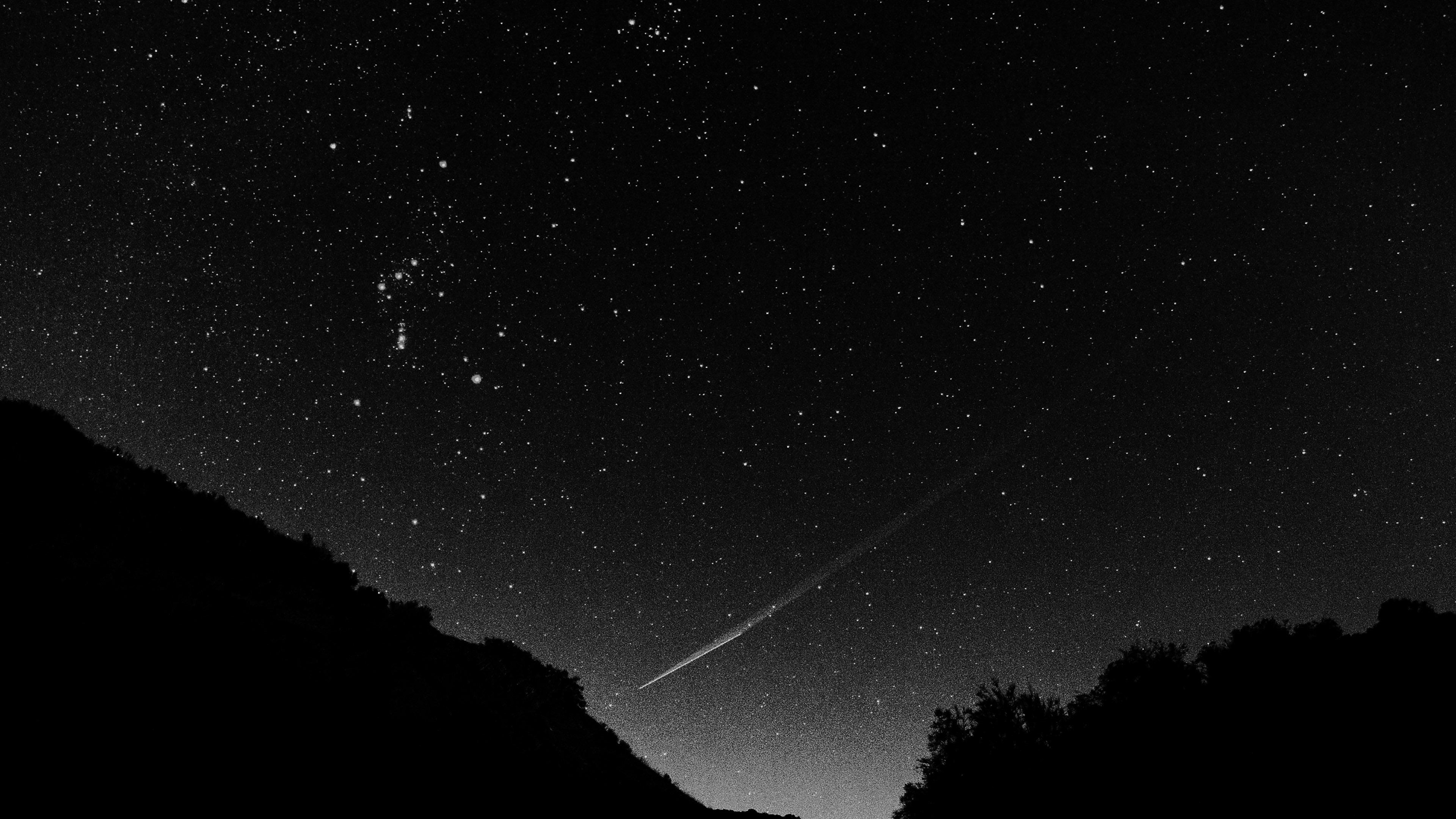 Mg37 Astronomy Space Black Sky Night Beautiful Falling