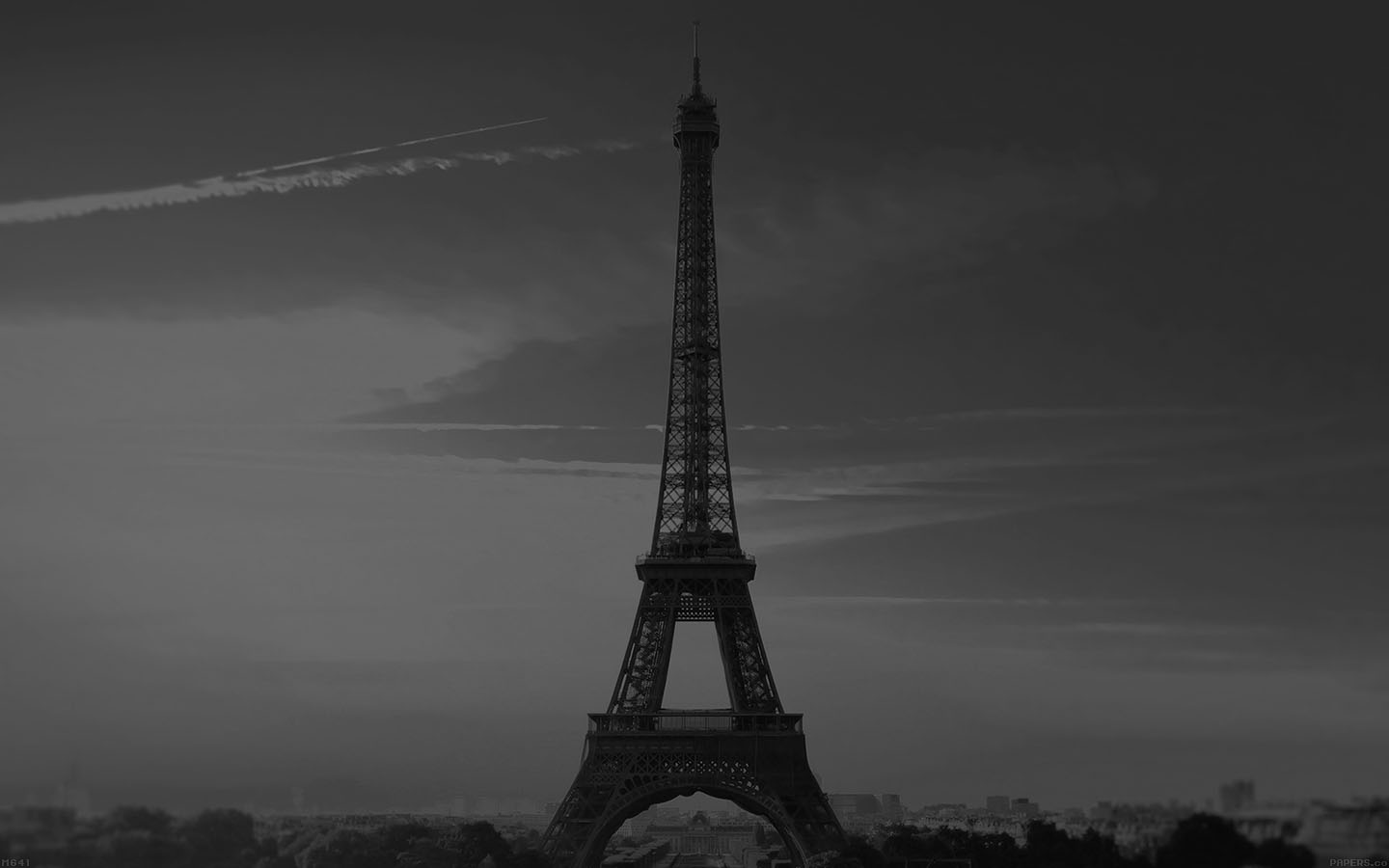 mg41-city-of-love-paris-eiffel-tower-france-black-and ...