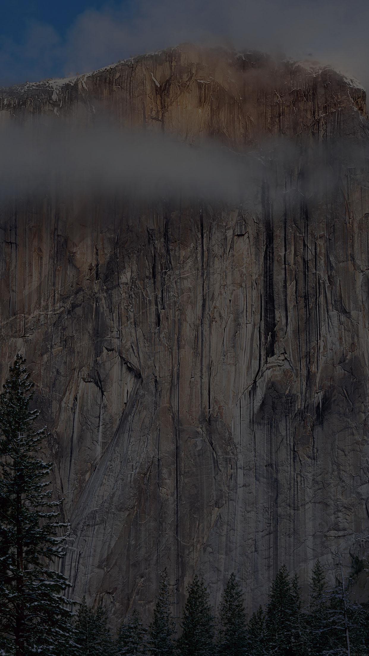 Iphone7papers Mg48 Os X Yosemite Dark Wallpaper Apple