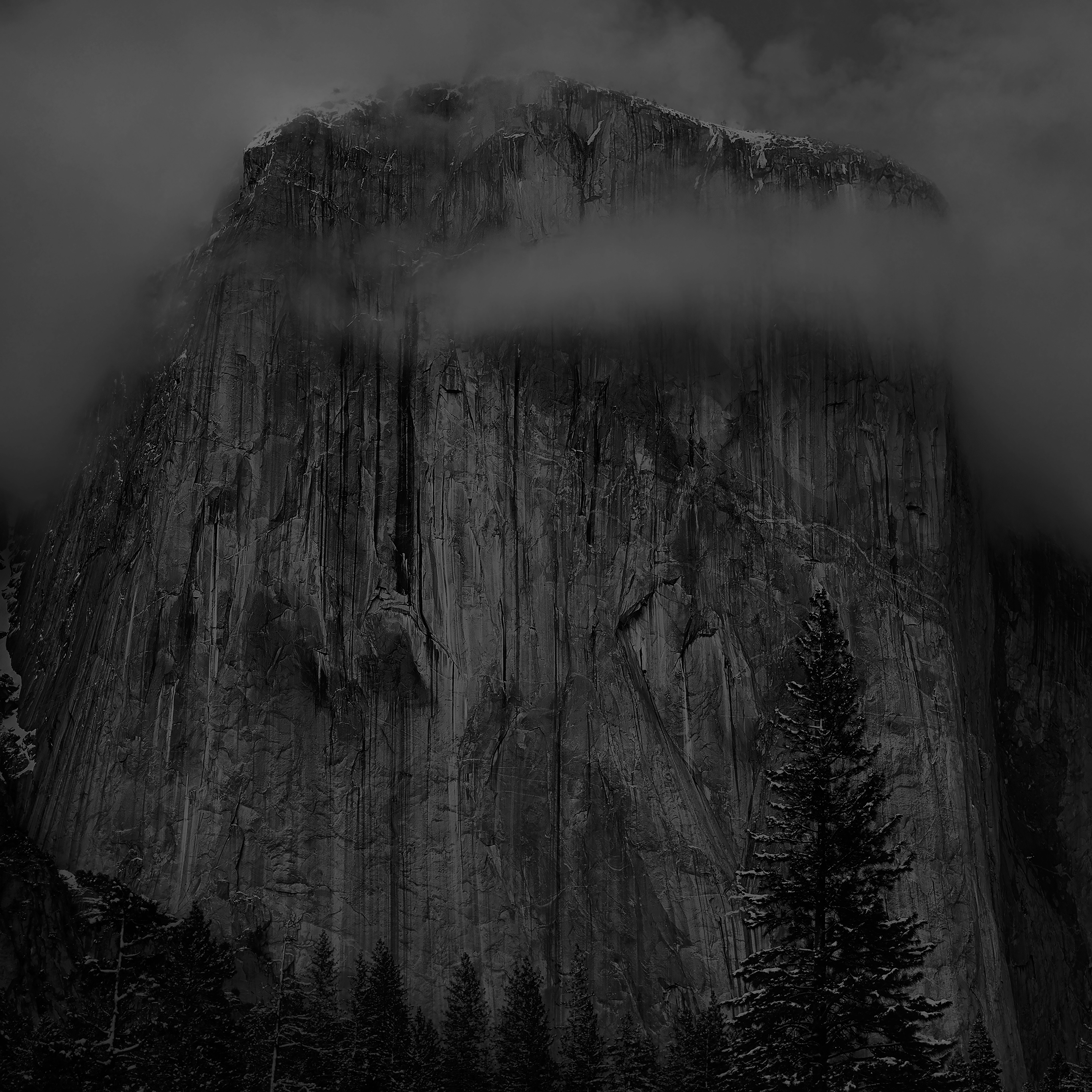 Mg49 Os X Yosemite Black Wallpaper Apple