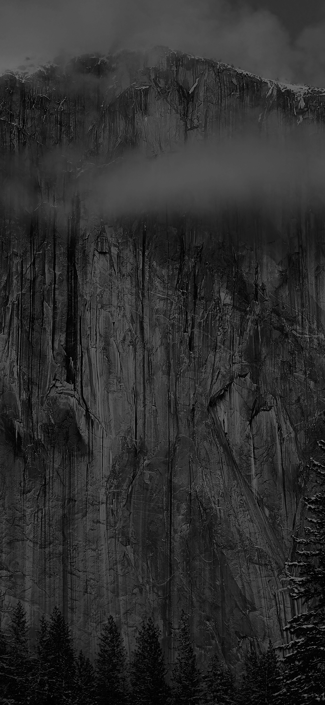 Mg49 Os X Yosemite Black Wallpaper Apple Wallpaper