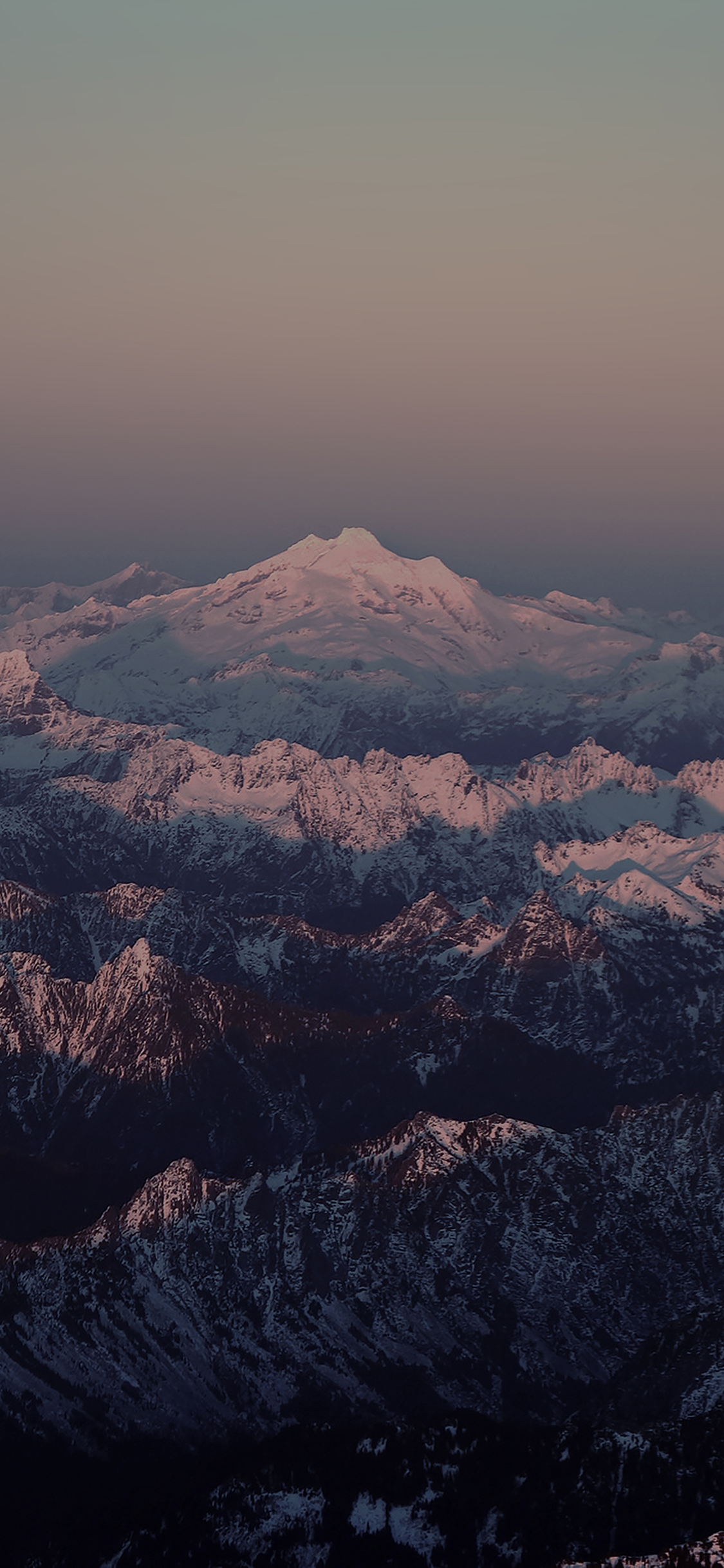 iPhoneXpapers.com-Apple-iPhone-wallpaper-mg85-mountain-dark-snow-in-sunset-shadow-nature