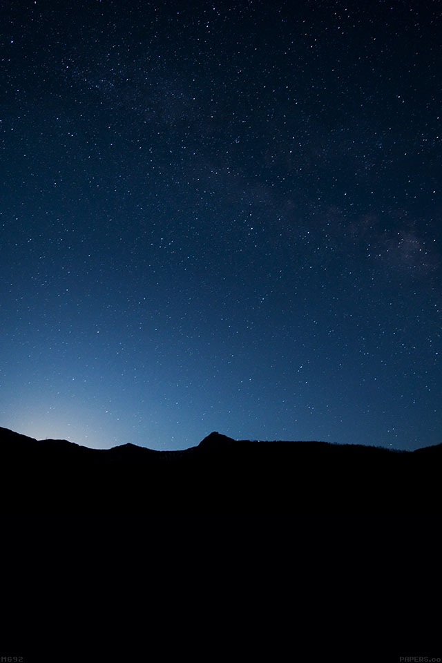 freeios7.com-iphone-4-iphone-5-ios7-wallpapermg92-night-sky-wide-mountain-star-shining-nature-iphone4