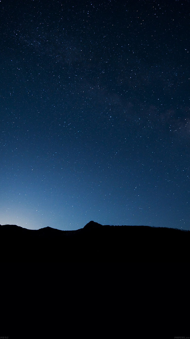 Papers.co-iPhone5-iphone6-plus-wallpaper-mg92-night-sky-wide-mountain-star-shining-nature