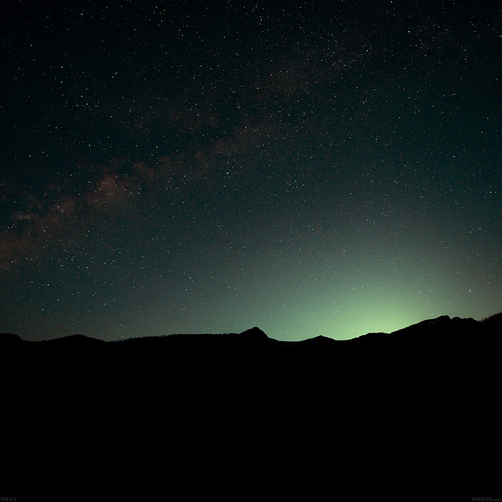 android-wallpaper-mg93-night-sky-green-wide-mountain-star-shining-nature-wallpaper