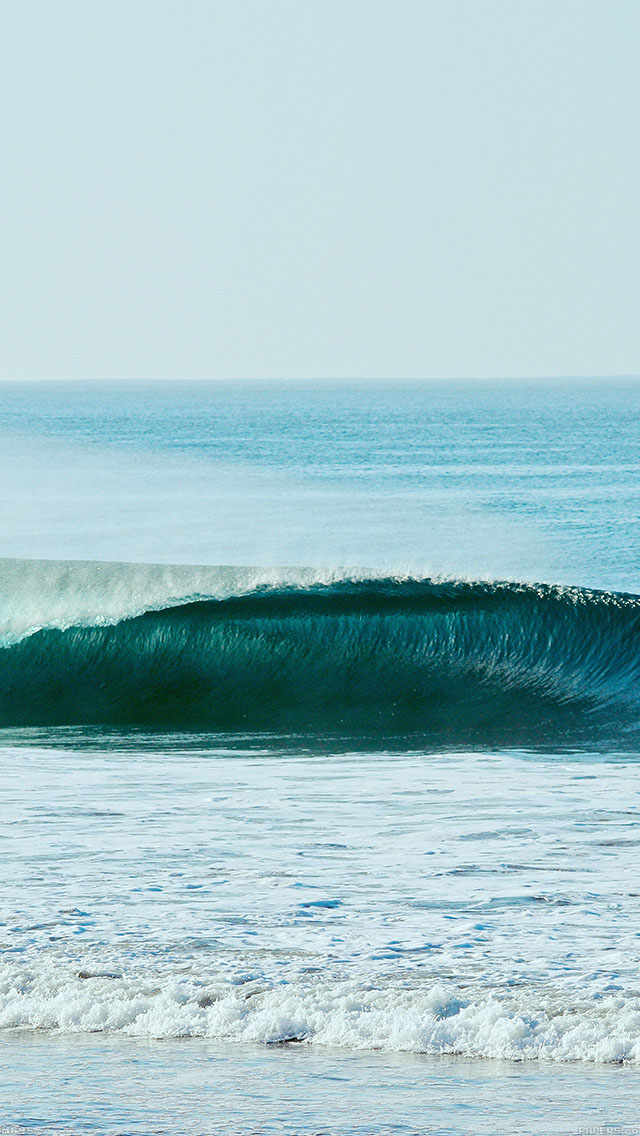 freeios8.com-iphone-4-5-6-ipad-ios8-mg95-ocean-wave-blue-day-california-nature