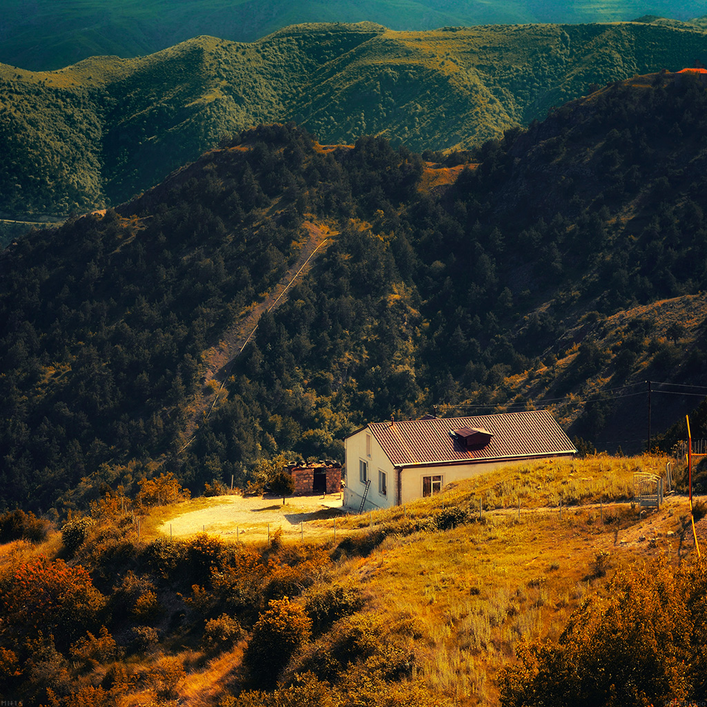 android-wallpaper-mh15-karabakh-armenia-nature-with-mountain-house-fall-wallpaper
