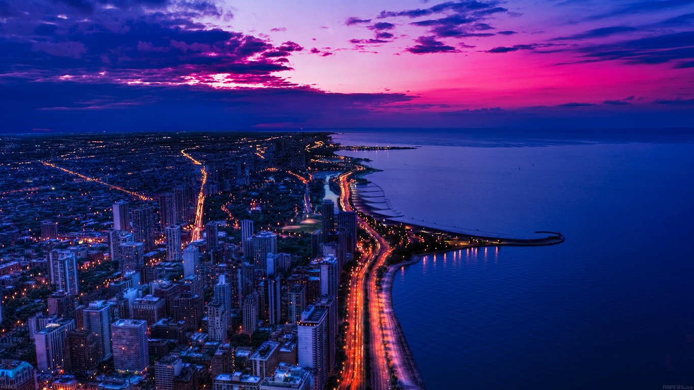 iPapers.co-Apple-iPhone-iPad-Macbook-iMac-wallpaper-mh45-chicago-city-night-sky-view-scape-ocean-beach-wallpaper