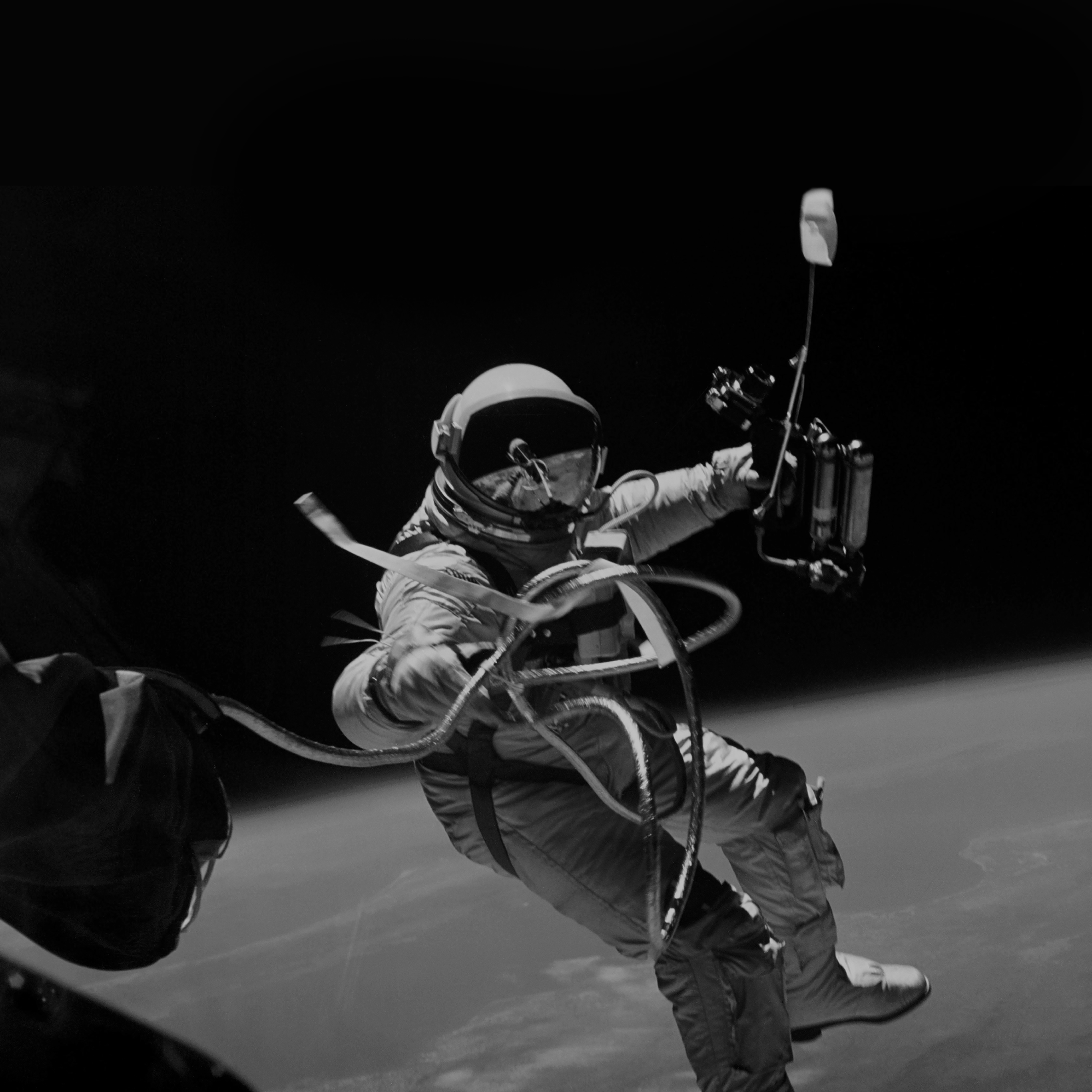 papers.co mh72 space instagram photo astronaut black 40 wallpaper