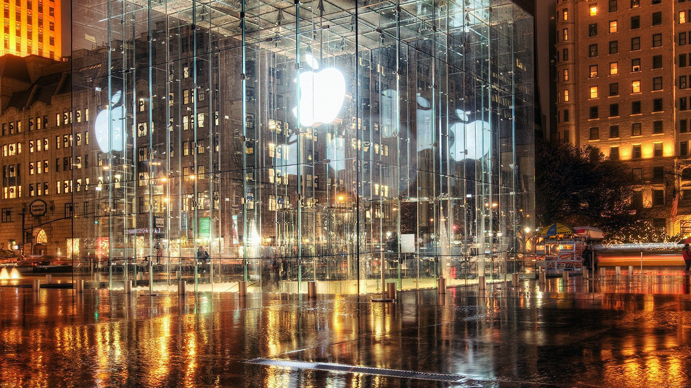 iPapers.co-Apple-iPhone-iPad-Macbook-iMac-wallpaper-mh73-raining-apple-store-newyork-wallpaper