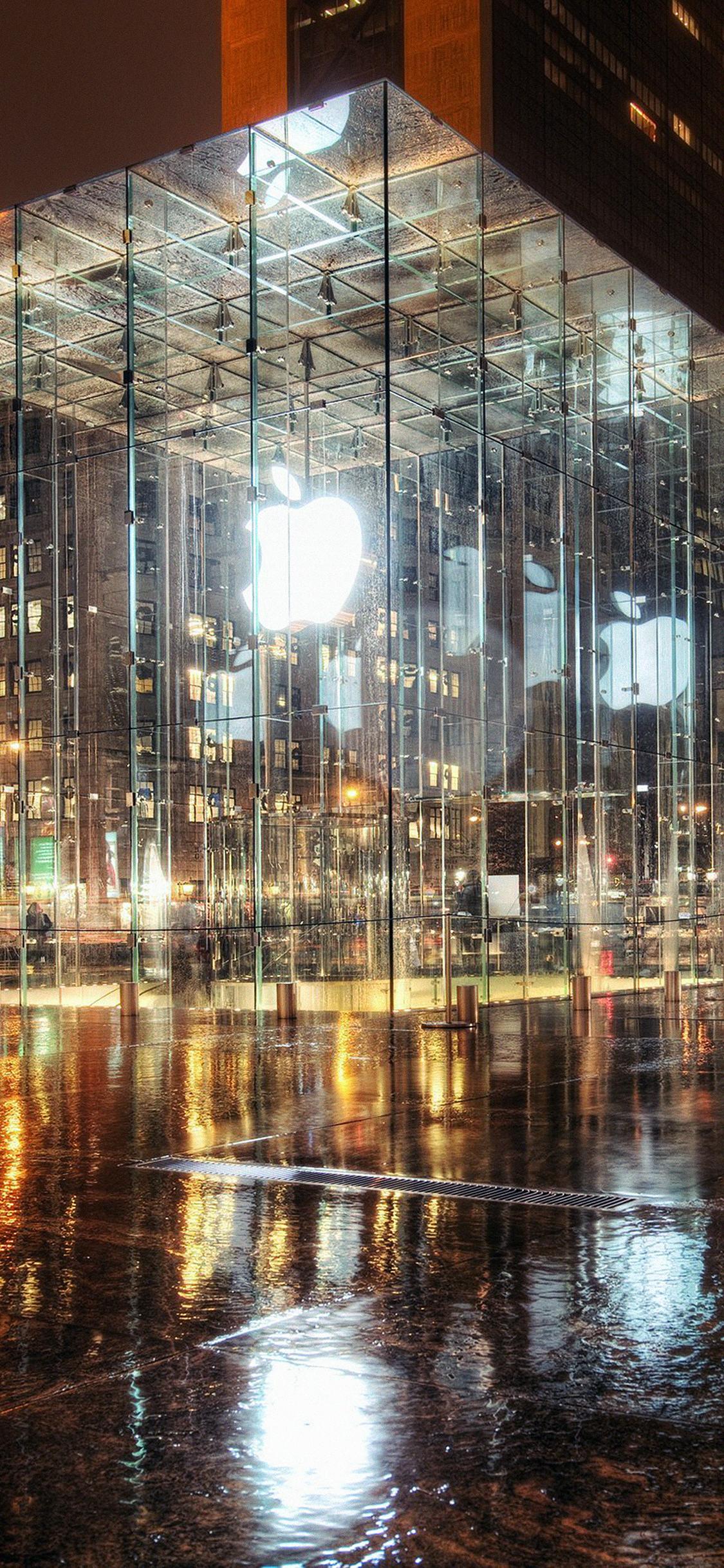 iPhoneXpapers.com-Apple-iPhone-wallpaper-mh73-raining-apple-store-newyork