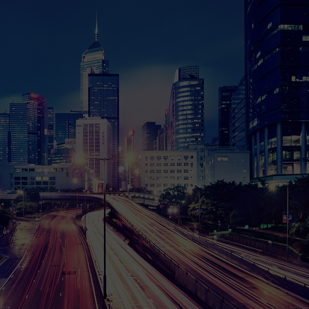 wallpaper-mi10-hongkong-at-night-drive-city-dark-wallpaper