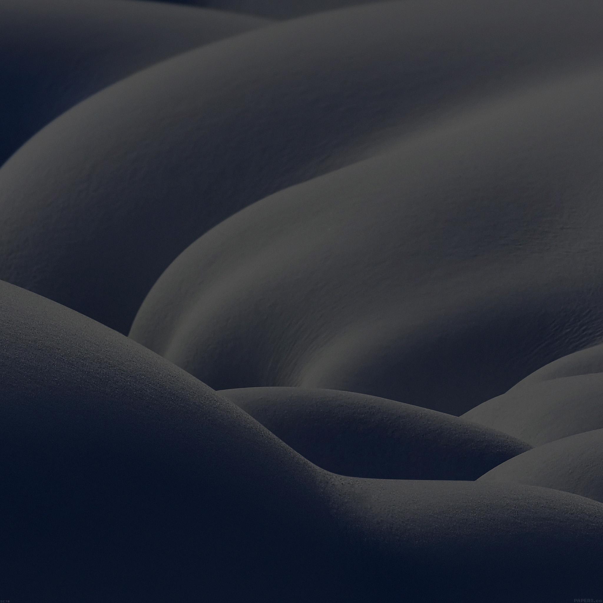 Mi20 Snow Mountain Winter Coming Cold Dark Sad Wallpaper