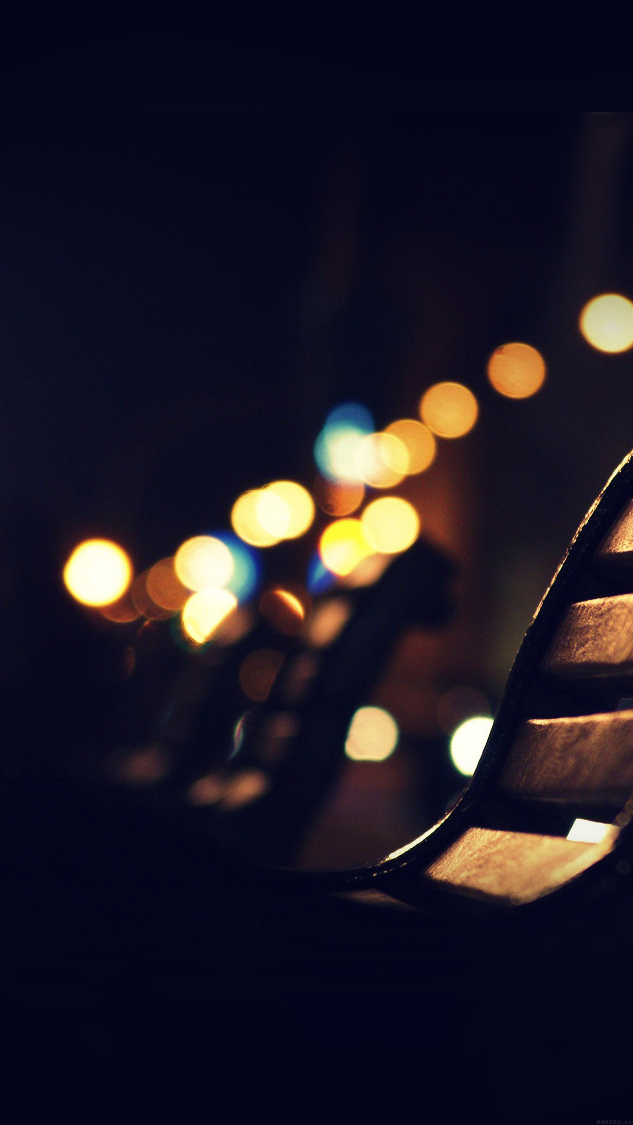 Mi30 Beach Street Night Lights Bokeh