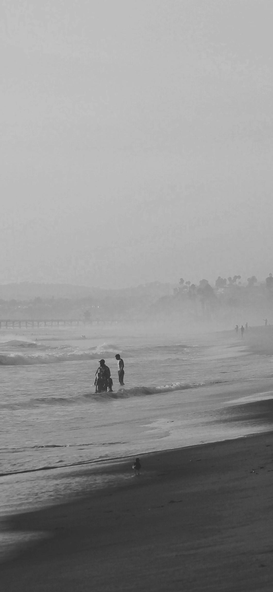 iPhoneXpapers.com-Apple-iPhone-wallpaper-mi39-beach-sea-afternoon-bw-chris-sardegna-nature