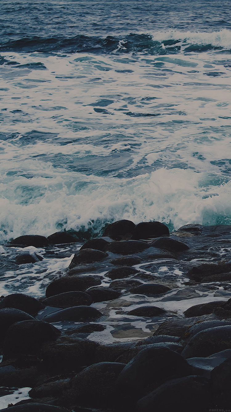 iPhone6papers.co-Apple-iPhone-6-iphone6-plus-wallpaper-mi47-wet-sea-beach-wave-dark-olivia-henry-nature