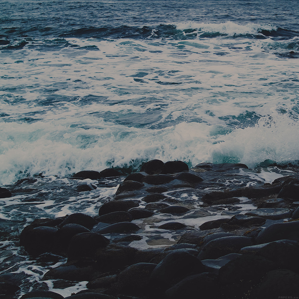 android-wallpaper-mi47-wet-sea-beach-wave-dark-olivia-henry-nature-wallpaper