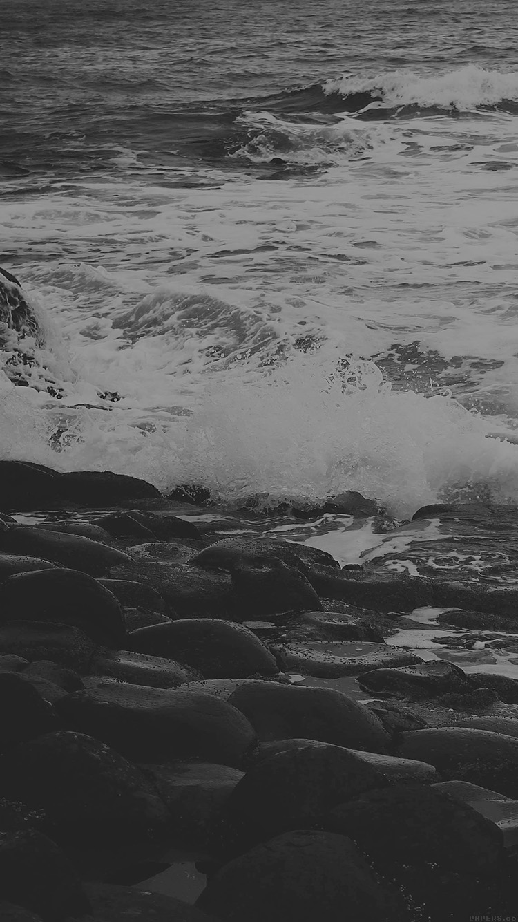 iPhone6papers.co-Apple-iPhone-6-iphone6-plus-wallpaper-mi48-wet-sea-beach-wave-bw-olivia-henry-nature