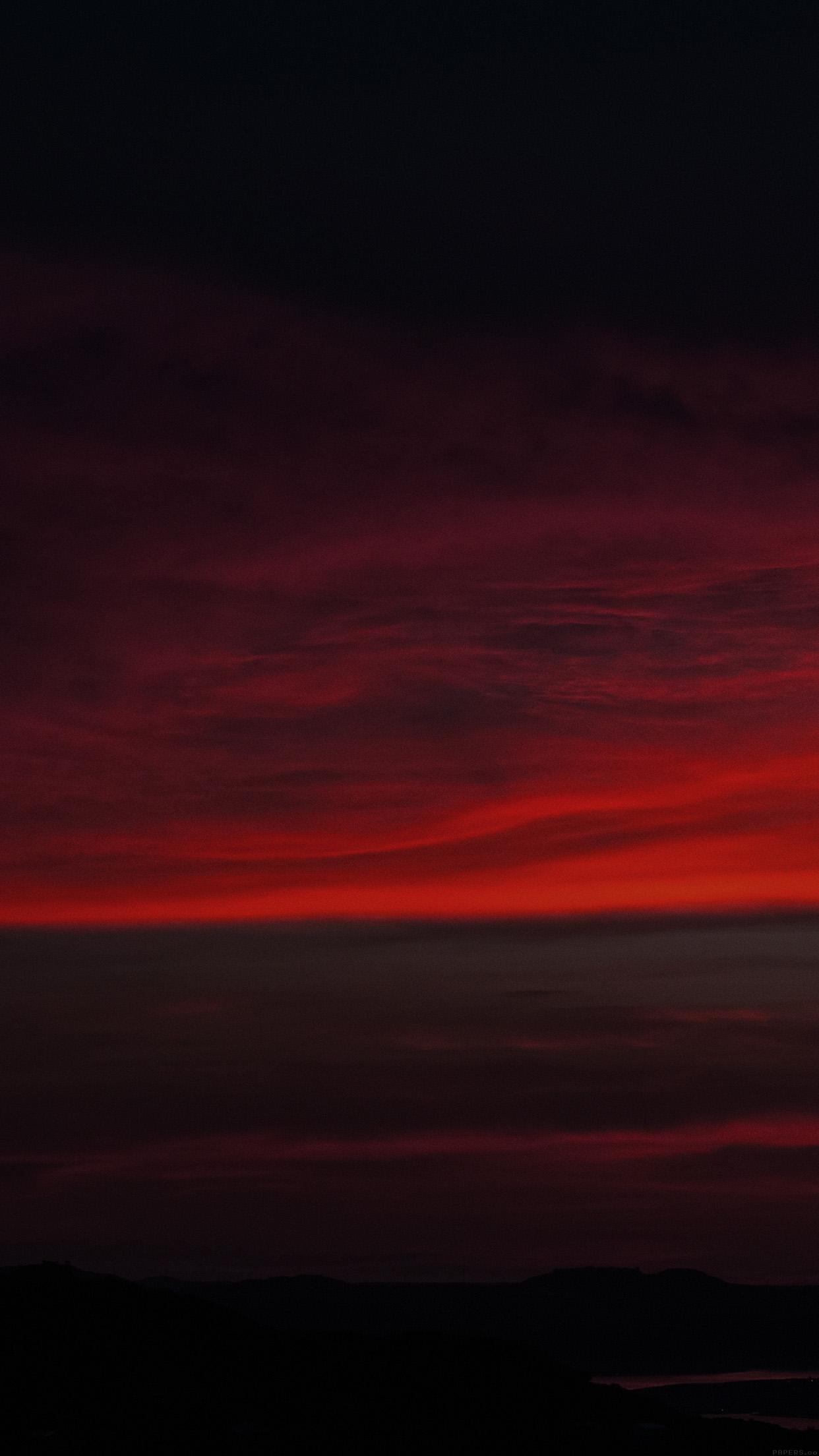 Iphone6papers Mi69 Lotus Carroll Red Sky Was Falling Cloud