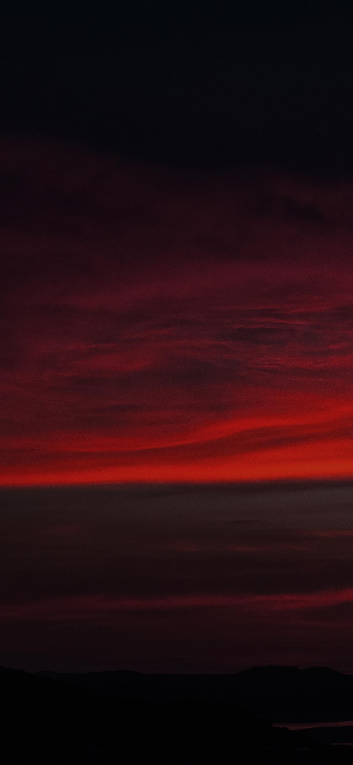 Iphonexpapers Mi69 Lotus Carroll Red Sky Was Falling Cloud Nature